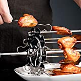 Fikujap Kitchen Tools, <span class='highlight'>Barbecue</span> Accessories, Oven <span class='highlight'>Grill</span>, Kebab Cage, Stainless Steel Durable <span class='highlight'>Barbecue</span> Tool Room,20CM