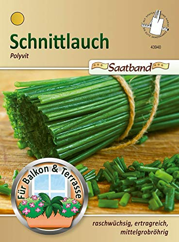 N.L. Chrestensen 43940 Schnittlauch Polyvit Saatband (Schnittlauchsamen)