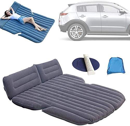 Colchón de la estera cama de aire Asiento de atrás, de aire del coche cama inflable colchón inflable for acampar del recorrido dormir Pad con 2Pillow y gratuito de la bomba de coches, for el asiento t