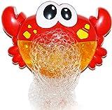 Fun Gift Krabbenbadespielzeug. Schaumbadmacher für die Badewanne. Bläst Blasen und spielt 24 Kinderlieder - Baby, Kleinkind Kinder Badespielzeug Macht große Geschenke für Kleinkinder