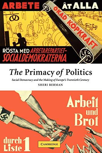 Primacy Of Politics
