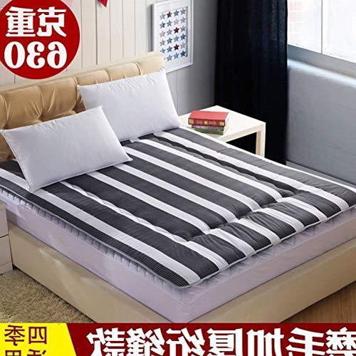 YLCJ Tragbare Faltmatratze, Fußbodenauflage, feuchtigkeitsbeständige Schlafunterlage, A 100 x 200 cm (39 x 79 Zoll)