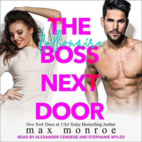 The Billionaire Boss Next Door audiobook cover art
