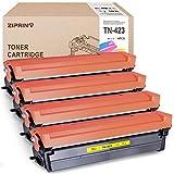 ZIPRINT 4 - Tóner compatible con TN-423 TN423 TN-421 para Brother HL-L8260CDW HL-L8360CDW DCP-L8410CDW MFC-L8690CDW MFC-L8900CDW (negro, cian, magenta y amarillo)