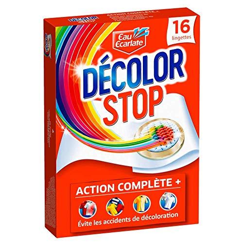 Décolor Stop Action Complète 16 Lingettes Anti-Décoloration