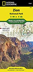 Waterproof. Tear-resistant. Regularly revised. Hiking trails. Campsites. Hiking the Zion Narrows. Backcountry and frontcountry information. Trail descriptions and mileages. Trails are clearly marked and feature mileages between intersections. Map bas...