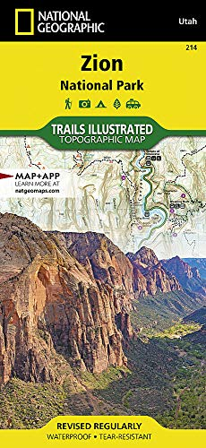 Zion National Park (National Geographic Trails Illustrated Map (214))