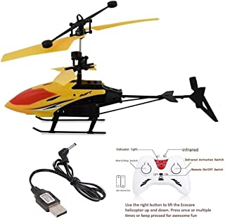 Vikas gift gallery Exceed Remote Control and Hand Sensor Charging Helicopter Toys with 3D Light Toys for Boys Kids (Indoor...