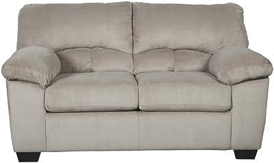 Pleasing Amazon Com Baxton Studio Dakota Leather Modern Loveseat Creativecarmelina Interior Chair Design Creativecarmelinacom
