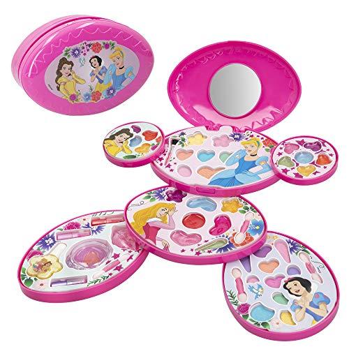 Disney 77214 Ensemble Complet pour Enfant avec Mallette de Maquillage Princesses