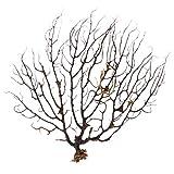 Flashing Ventilador del Mar Negro, Pecera, Decoración De Acuario, Adorno De Coral Marino, Plantas De Acuario para Decoración De Peceras