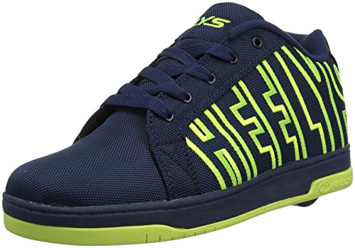 Heelys, Zapatillas de Deporte Unisex Adulto, Multicolor (Navy/Bright Yellow 000), 36.5 EU