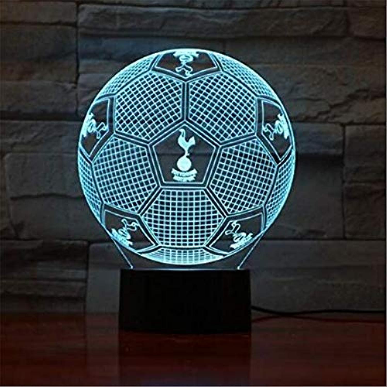 Led-leuchten Edison Lights 3D Druck Ball Lampe 7 Farbwechsel Touch Schalter Schlafzimmer Bücherregal Nachtlicht