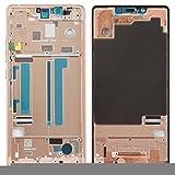 LINSHAOHUI Cadre central avec touches latérales pour Xiaomi Mi 8 SE (couleur : or rose)