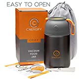 Energify Vacuum Insulated Food Jar - Stainless Steel Food Thermos, Soup Bowl,...