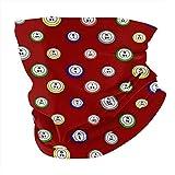 Bandera de los Estados Unidos Marina cara cara cara máscara bucal bufanda bufanda bufanda polaina cuello polaina para festivales y exteriores - transparente - talla única