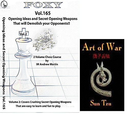 Foxy Chess Openings, Vol. 165: Opening Ideas and Secret Weapons to Demolish your Opponent DVD and 'Art of War' Ebook