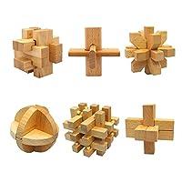 木のおもちゃ パズル 3D 立体パズル 頭の体操 天啟 伝統 減圧 祝日のプレゼント 鲁班锁 老若咸宜