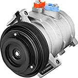 Mophorn CO 11146C (RL111416AD) Universal Air Conditioner Ac Compressor compatible with 08-10 Dodge Grand Caravan Town & Country/Grand Caravan 3.3L 3.8L 4.0L 60-02393NA A/C Compressor