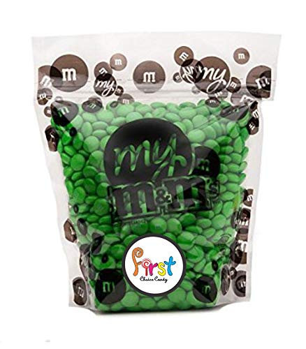 All Color M&M'S Bulk Candy Bag ( Green , 2 LB)