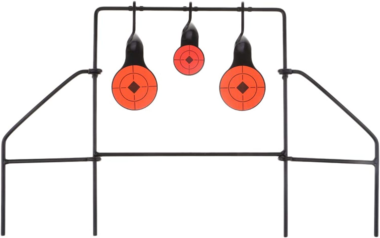 Baoblaze Self Resetting Spinning Shooting 3 Targets Metal Stand Practice Spinner