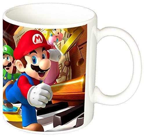 Super Mario Bros A Taza Ceramica