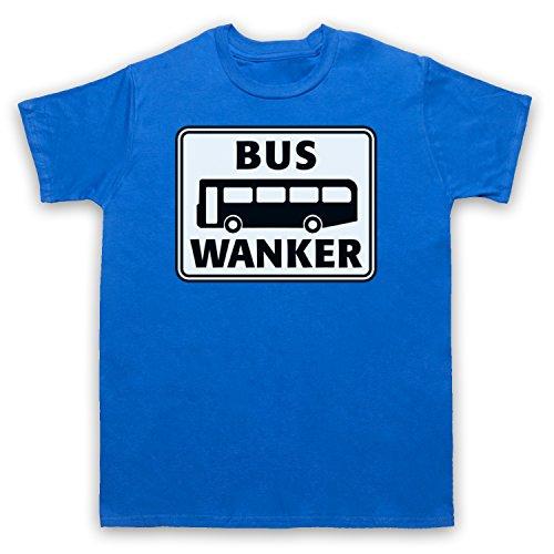 Bus Wanker Funny Mens T-Shirt