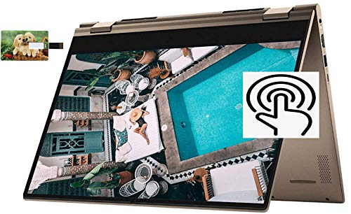 2020 Newest Dell Inspiron 14 7000 2020 Premium 2 in 1 Laptop 14' FHD(1920x1080) IPS Touchscreen AMD 6-Core Ryzen 5 4500U 8GB DDR4 512GB PCIe SSD Backlit FP Win 10 Pro | 32GB Tela USB Card