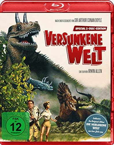 Versunkene Welt / The Lost World (1960) ( ) (Blu-Ray & DVD Combo) (Blu-Ray)