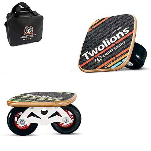 Hignful Freeline Drift Skates Waveboards Monowheel Skates PU Räder ABS Pedal Anti-Rutsch Verschleiß-Resisting, 7 Schichten Ahorn Deck, Für Kinder Und Erwachsene Indoor Outdoor Mit Reise Tragetasche