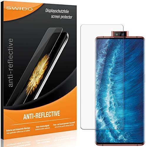 SWIDO Schutzfolie für Vivo NEX 3S 5G [2 Stück] Anti-Reflex MATT Entspiegelnd, Hoher Festigkeitgrad, Schutz vor Kratzer/Folie, Bildschirmschutz, Bildschirmschutzfolie, Panzerglas-Folie