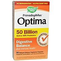 Primadophilus Optima 50 Billion Digestive Balance 30