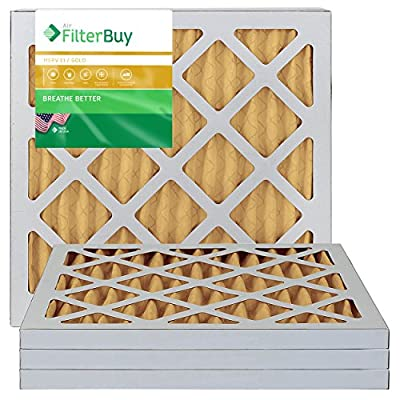 Furnace Filters/Air Filters - AFB Gold MERV 11 (4 Pack)
