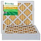 AFB oro Merv 1114x 18x 1plisado AC filtro de aire del horno. Pack de 4filtros. 100% elaborado en los Estados Unidos.