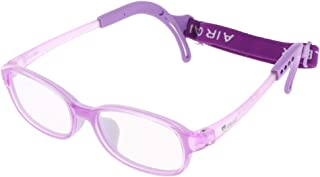 F Fityle Children Glasses Frame with Strap, Kids Glasses with Cord, Flexible Girls Boys Glasses Frame,Ultra-light and Unbreakable