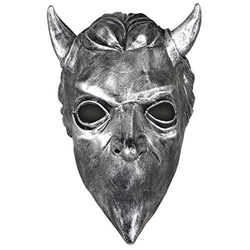 CoolChange Mscara escalofriante de Latex de Diablo, Estatua de Satans