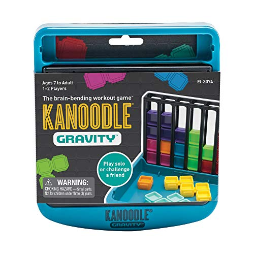 Educational Insights Kanoodle Gravity   Brain Bending Puzzle Game for Kids, Teens & Adults   1 or 2 Players