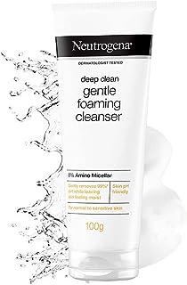 Neutrogena Deep Clean Gentle Foaming Cleanser 100g, Deep Clean, 100 grams