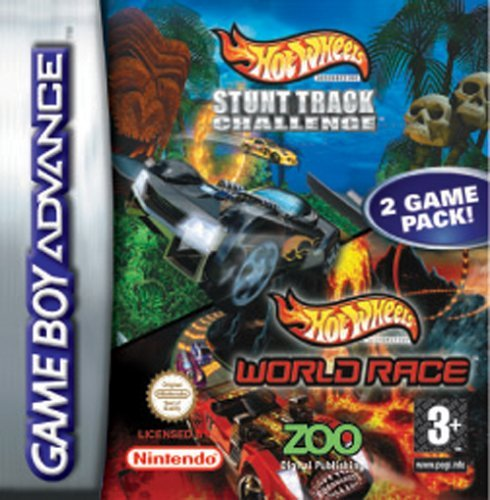 Game Boy Advance - Hot Wheels Stunt Track Challenge & Hotwheels World Race - [PAL EU]