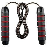 Corda per Saltare Professionale Skipping Jump Rope Regolabile Regolabile Maniglia di Schiuma Fitness Perdita di Peso Fitness