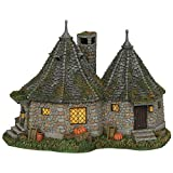 Department 56 Harry Potter Village Hagrid's Hut Lit Building, 6.7'