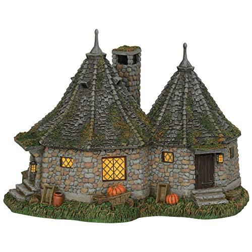 Department 56 Harry Potter Village Hagrid's Hut Lit Building, 6.7'