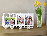 Zug Geformt Bilderrahmen Aufwachsen Mit Ihre Kinder Aufzeichnung Süß Erinnerung