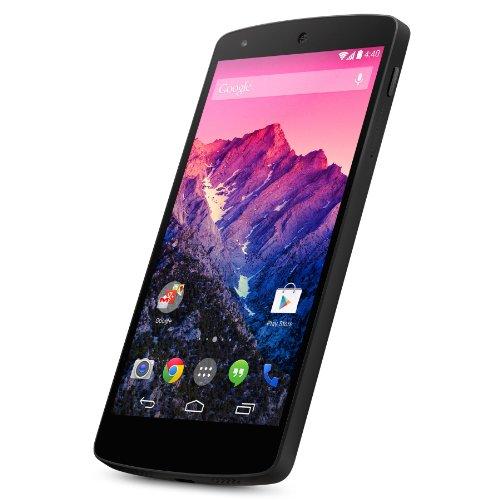 LG Mobile Google Nexus 512,6cm (4,9pollici) Smartphone (Touch display, memoria 32GB, Android 4.4) nero