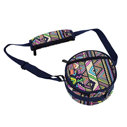 Fishawk Tongue Drum, Relaxing Handpan Drum, para meditación Instrumento de percusión para Relajarse con mazos(Gold)