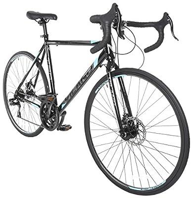 Vilano Tuono 2.0 Aluminum Road Bike 21 Speed Disc Brakes, 700c