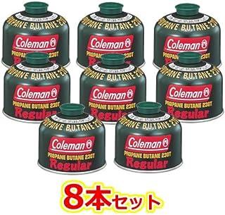 まとめ買い8本セット Coleman(コールマン) 純正LPガス燃料[Tタイプ]230g 5103A230T