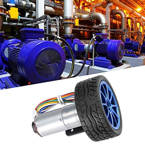 Kit de robot adecuado, caja de engranajes, motor de carbono, resistencia al impacto, vida de servicio de hierro y plástico para robot inteligente Dc12v