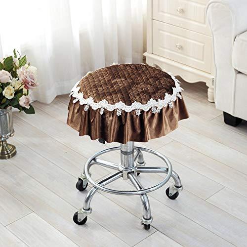 YLCJ Zitkussen, verdikkingskussen, voor oven, kleine zitkussens, rond, pluche, zitkussen, rond, diameter 30 cm