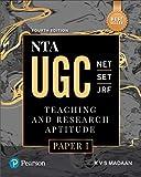 NTA UGC NET/SET/JRF: Teaching & Research Aptitude Paper 1 | By Pearson